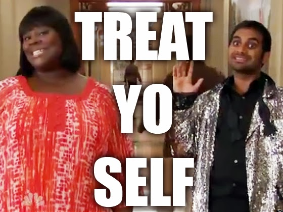 Image result for treat yo self parks and rec